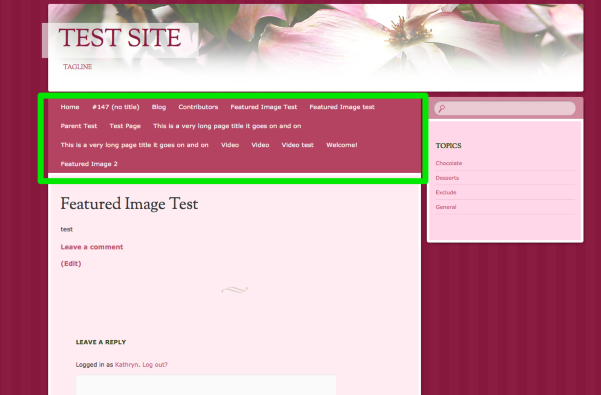 Featured Image Test Test Site