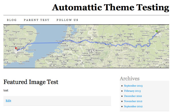 Featured Image Test Automattic Theme Testing