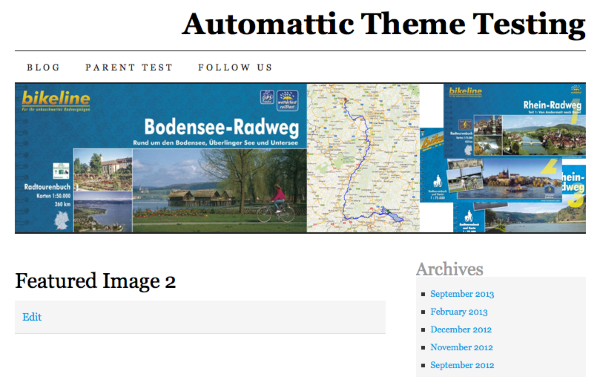 Featured Image 2 Automattic Theme Testing