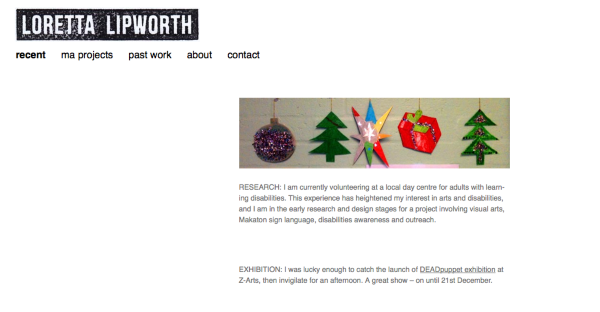 Loretta Lipworth projects 2