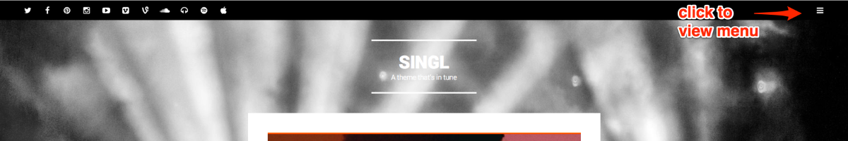 Singl A theme that s in tune 1