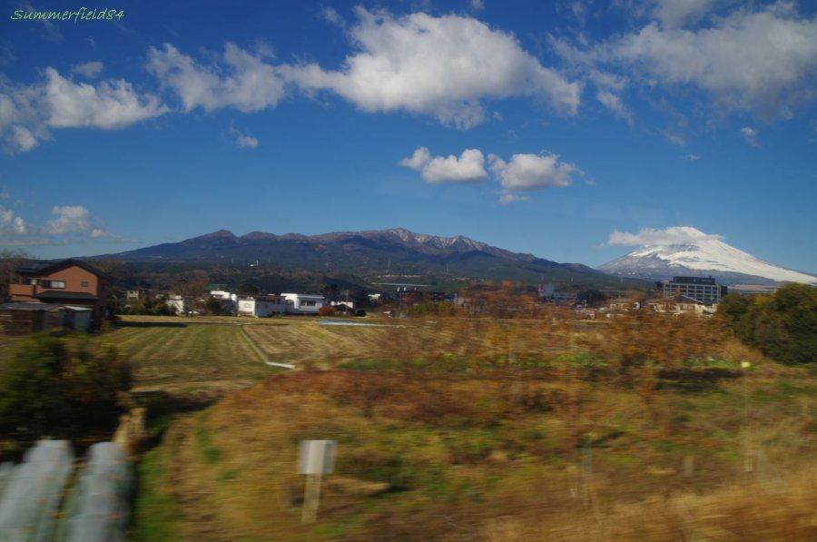 愛鷹連坊と富士山