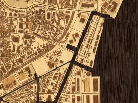 woodcut map