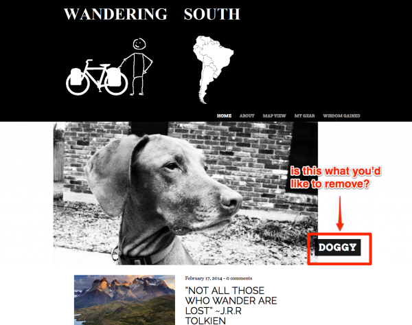 Wandering South A year or more cycling through South America