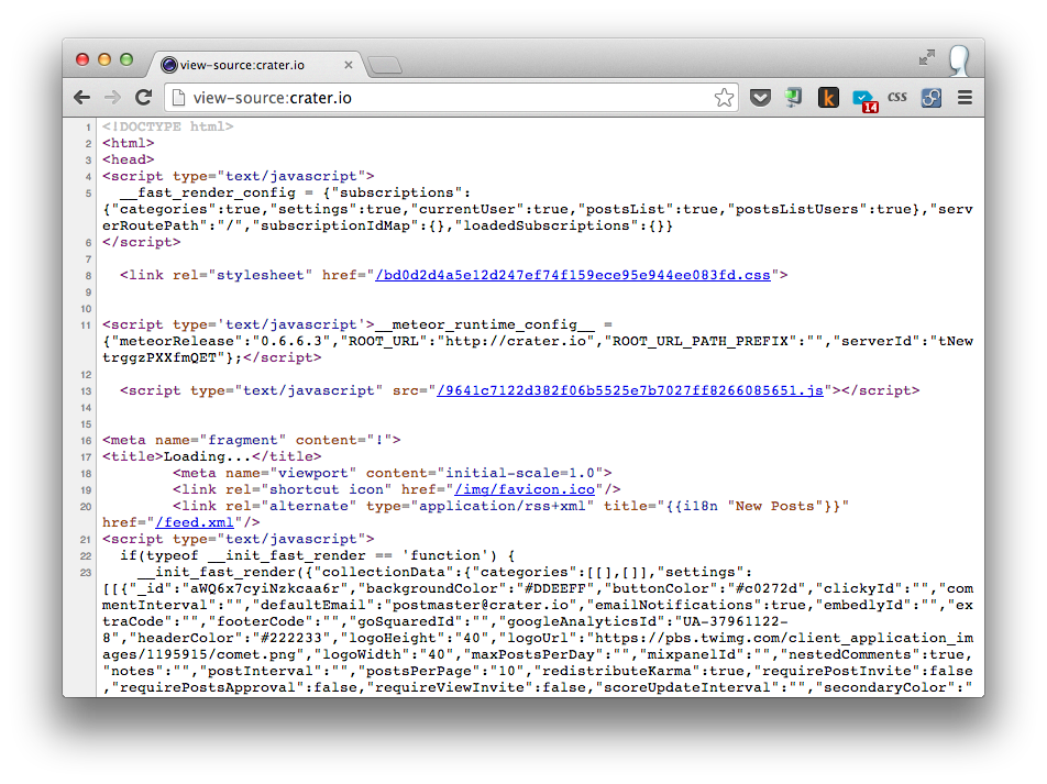 HTML Comes with Fast Render