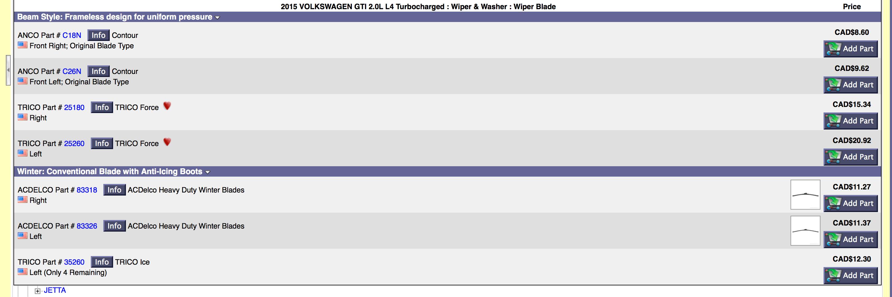 VWVortex Finally found 3rd party wiper blades
