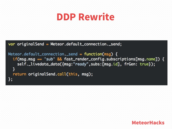 DDP Rewrite - Code